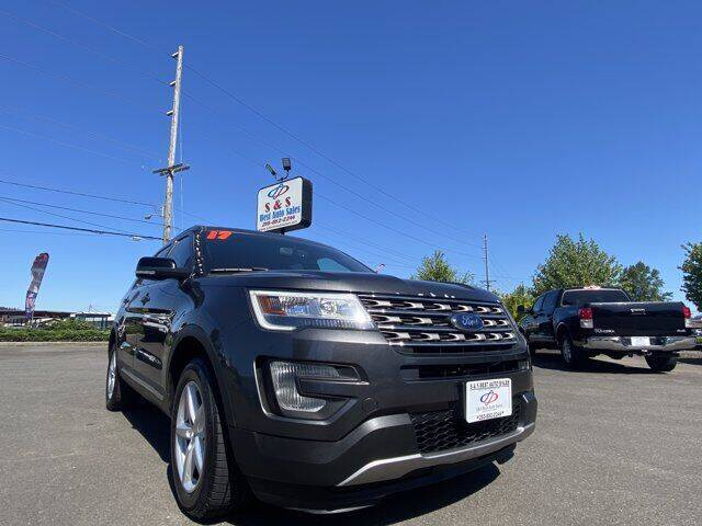 2017 Ford Explorer for sale at S&S Best Auto Sales LLC in Auburn WA