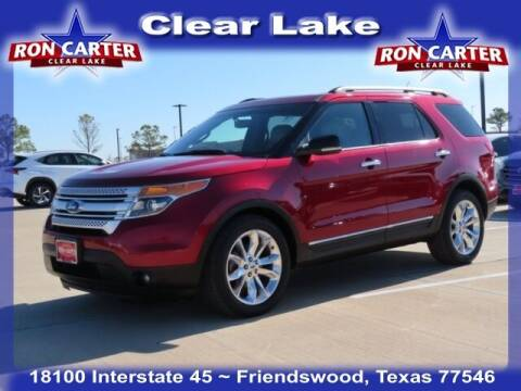 2013 Ford Explorer for sale at Ron Carter  Clear Lake Used Cars in Houston TX