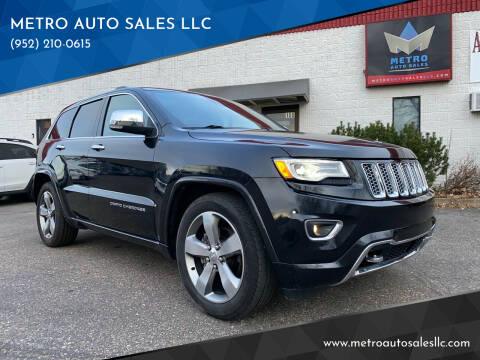 2015 Jeep Grand Cherokee for sale at METRO AUTO SALES LLC in Blaine MN