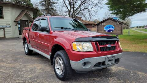 2001 Ford Explorer Sport Trac for sale at Shores Auto in Lakeland Shores MN
