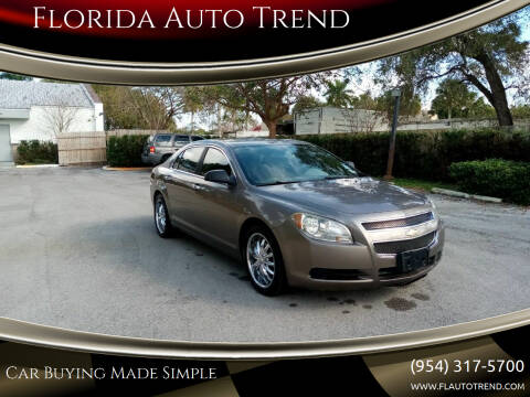 2012 Chevrolet Malibu for sale at Florida Auto Trend in Plantation FL