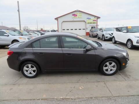 2016 Chevrolet Cruze Limited for sale at Jefferson St Motors in Waterloo IA