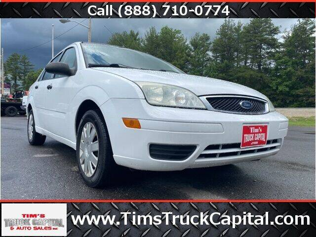 2007 Ford Focus for sale at TTC AUTO OUTLET/TIM'S TRUCK CAPITAL & AUTO SALES INC ANNEX in Epsom NH