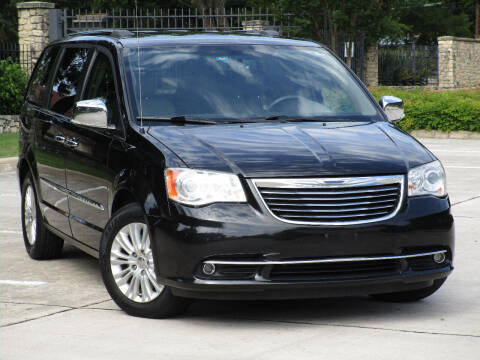 2014 Chrysler Town and Country for sale at Ritz Auto Group in Dallas TX