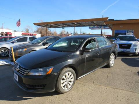 2013 Volkswagen Passat for sale at Nile Auto Sales in Denver CO