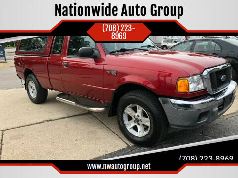 2004 Ford Ranger for sale at Nationwide Auto Group in Melrose Park IL