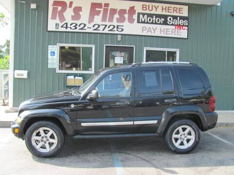 2006 Jeep Liberty for sale at R's First Motor Sales Inc in Cambridge OH