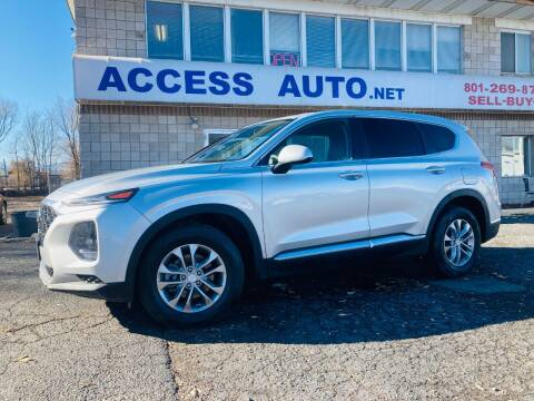 2019 Hyundai Santa Fe for sale at Access Auto in Salt Lake City UT