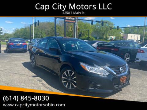 2017 Nissan Altima for sale at Cap City Motors LLC in Columbus OH