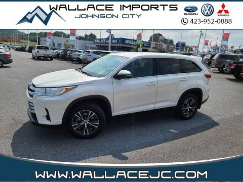 2019 Toyota Highlander for sale at WALLACE IMPORTS OF JOHNSON CITY in Johnson City TN