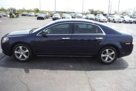 2012 Chevrolet Malibu for sale at Bryan Auto Depot in Bryan OH