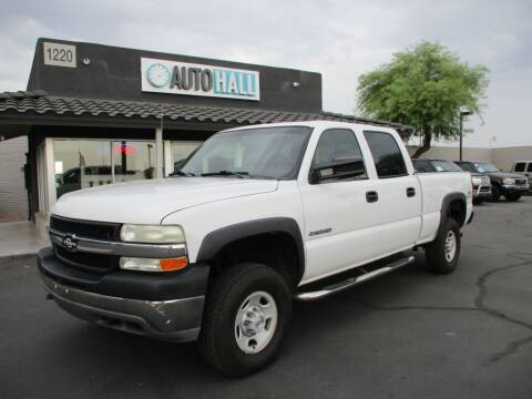 2002 Chevrolet Silverado 2500HD for sale at Auto Hall in Chandler AZ