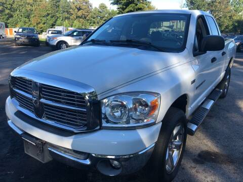 2007 Dodge Ram Pickup 1500 for sale at Atlantic Auto Sales in Garner NC