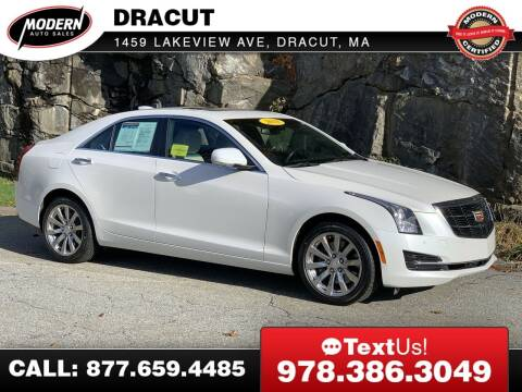 2018 Cadillac ATS for sale at Modern Auto Sales in Tyngsboro MA