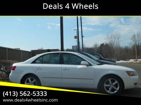 2007 Hyundai Sonata for sale at Deals 4 Wheels in Westfield MA