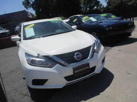 2017 Nissan Altima for sale at Quick Auto Sales in Modesto CA