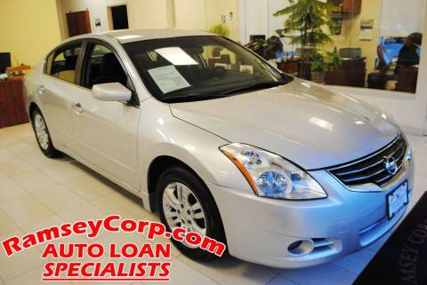 2012 Nissan Altima for sale at Ramsey Corp. in West Milford NJ
