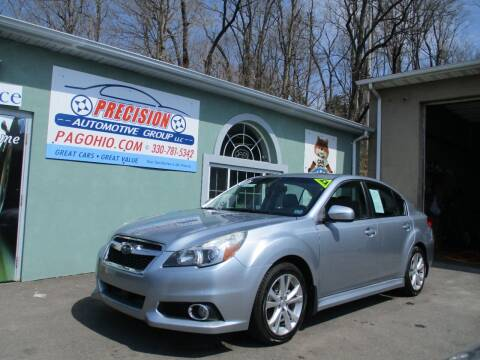 2010 Subaru Legacy for sale at Precision Automotive Group in Youngstown OH