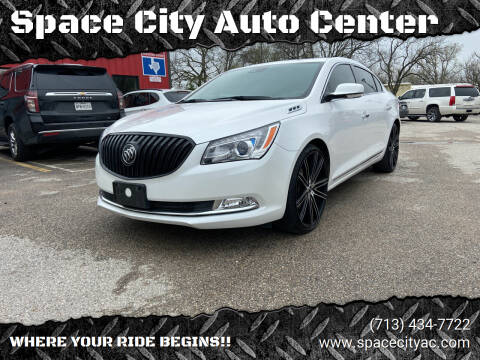 2016 Buick LaCrosse for sale at Space City Auto Center in Houston TX