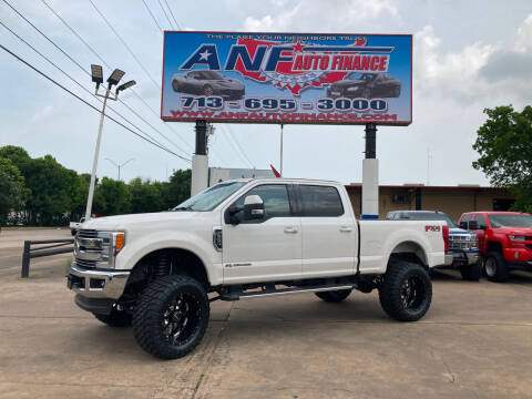 2019 Ford F-250 Super Duty for sale at ANF AUTO FINANCE in Houston TX