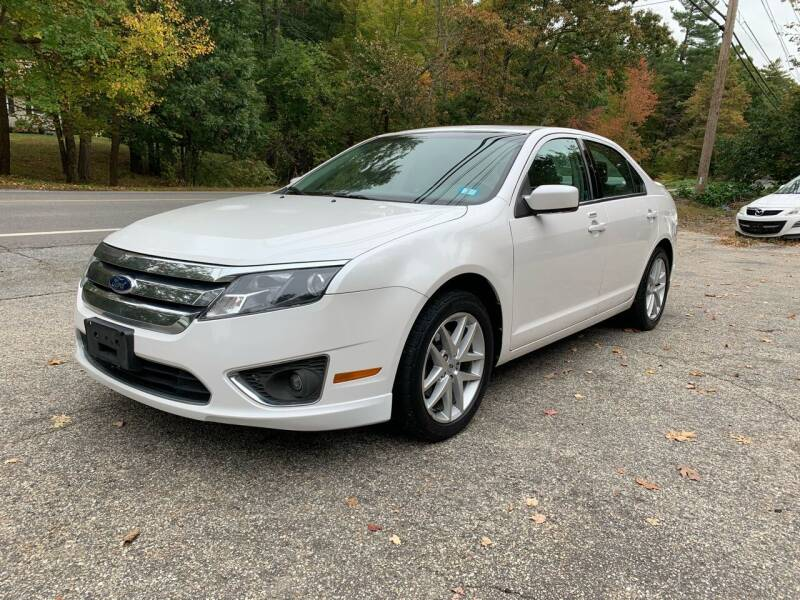 2012 Ford Fusion for sale at Old Rock Motors in Pelham NH