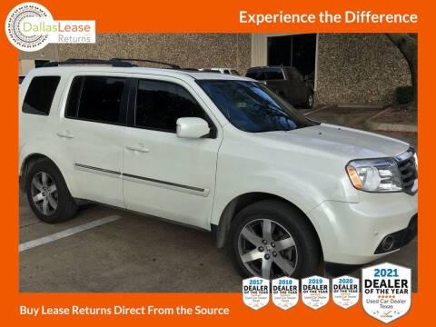 2013 Honda Pilot for sale at Dallas Auto Finance in Dallas TX