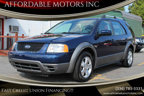 2007 Ford Freestyle for sale at AFFORDABLE MOTORS INC in Winston Salem NC