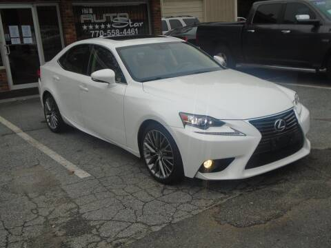 2014 Lexus IS 250 for sale at AutoStar Norcross in Norcross GA