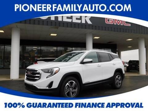 2021 GMC Terrain for sale at Pioneer Family auto in Marietta OH