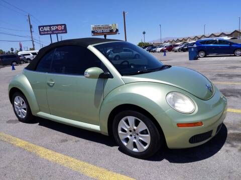 2008 Volkswagen New Beetle Convertible for sale at Car Spot in Las Vegas NV