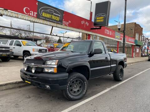 2005 Chevrolet Silverado 1500 for sale at Manny Trucks in Chicago IL