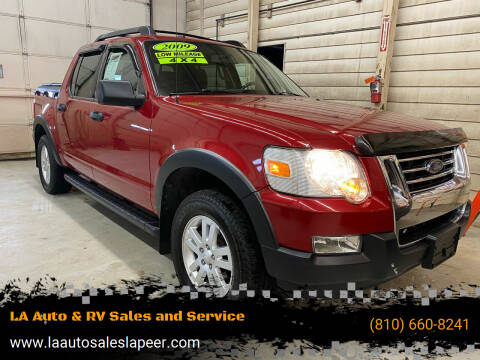 2009 Ford Explorer Sport Trac for sale at LA Auto & RV Sales and Service in Lapeer MI