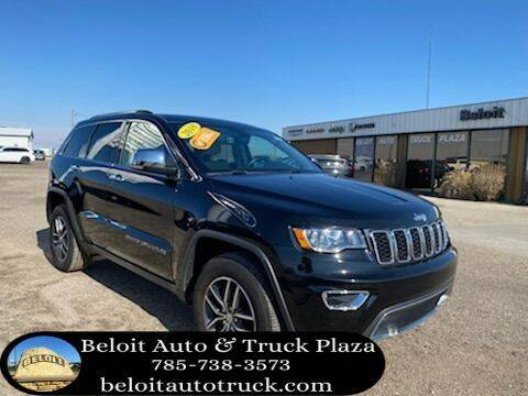 2018 Jeep Grand Cherokee for sale at BELOIT AUTO & TRUCK PLAZA INC in Beloit KS