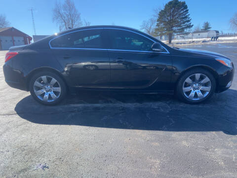 2012 Buick Regal for sale at EAGLE ONE AUTO SALES in Leesburg OH