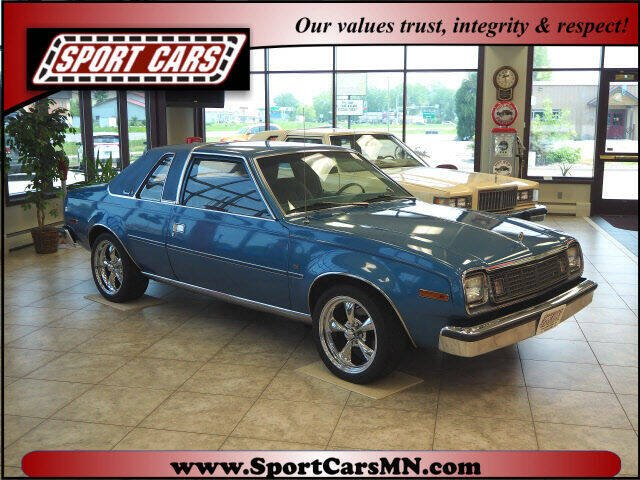 1978 AMC Concord for sale at SPORT CARS in Norwood MN