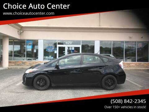 2014 Toyota Prius for sale at Choice Auto Center in Shrewsbury MA