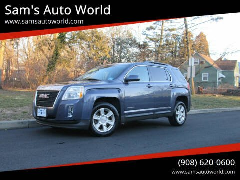 2013 GMC Terrain for sale at Sam's Auto World in Roselle NJ