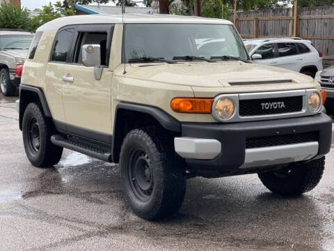 2008 Toyota FJ Cruiser for sale at AWESOME CARS LLC in Austin TX
