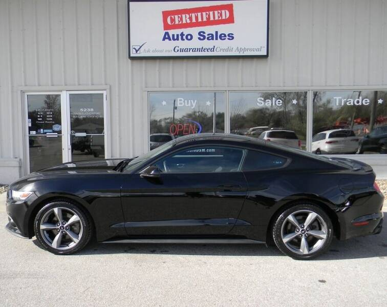 2016 Ford Mustang for sale at Certified Auto Sales in Des Moines IA