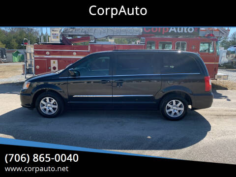 2012 Chrysler Town and Country for sale at CorpAuto in Cleveland GA
