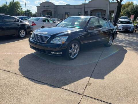 2004 Lexus LS 430 for sale at CityWide Motors in Garland TX