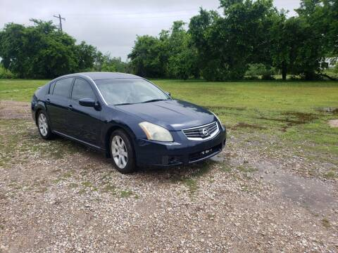 2007 Nissan Maxima for sale at NOTE CITY AUTO SALES in Oklahoma City OK