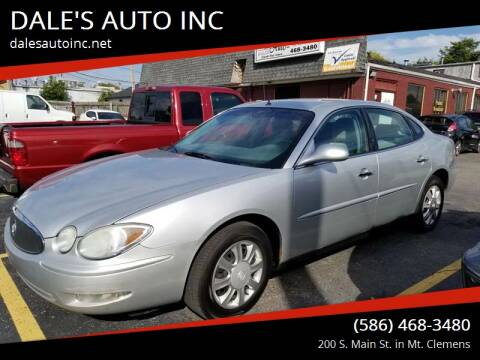 2005 Buick LaCrosse for sale at DALE'S AUTO INC in Mt Clemens MI