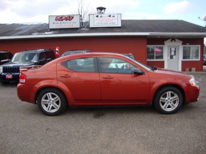 2008 Dodge Avenger for sale at G and G AUTO SALES in Merrill WI