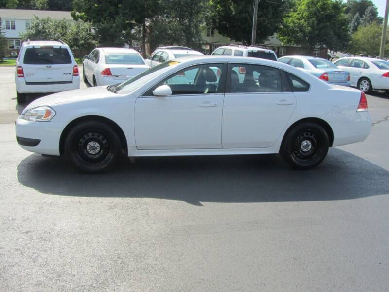 2014 Chevrolet Impala Limited Police 4dr Sedan - Mechanicville NY