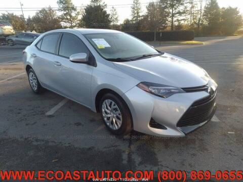 2017 Toyota Corolla for sale at East Coast Auto Source Inc. in Bedford VA