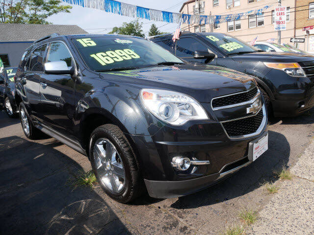 2015 Chevrolet Equinox for sale at M & R Auto Sales INC. in North Plainfield NJ