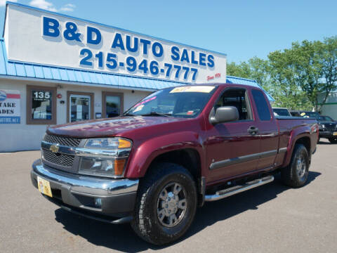 2007 Chevrolet Colorado for sale at B & D Auto Sales Inc. in Fairless Hills PA