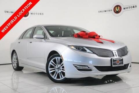 2014 Lincoln MKZ Hybrid for sale at INDY'S UNLIMITED MOTORS - UNLIMITED MOTORS in Westfield IN