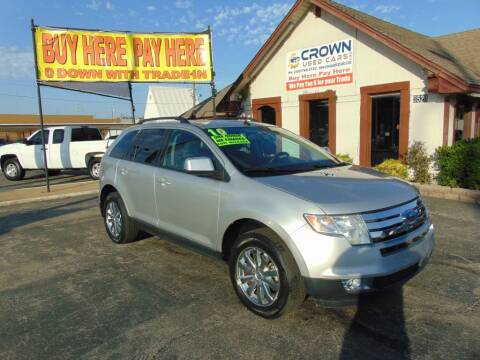 2010 Ford Edge for sale at Crown Used Cars in Oklahoma City OK